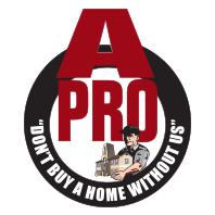 A-Pro Home Inspection Logo - Birmingham Alabama